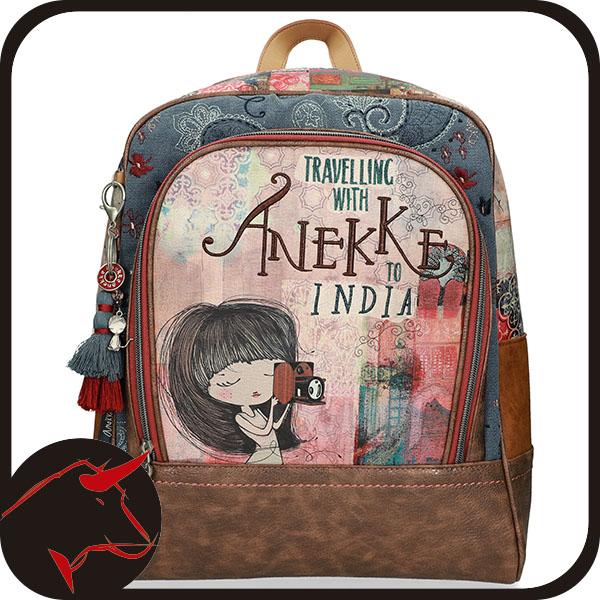 Frontal Mochila escolar Anekke India