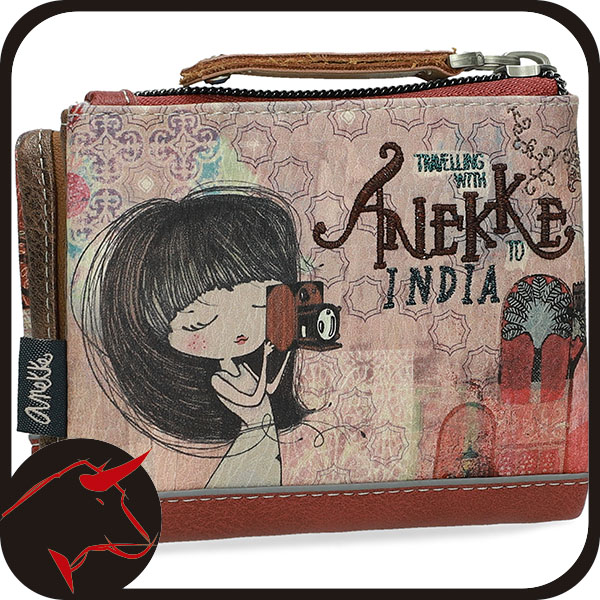 Monedero Billetero Anekke India